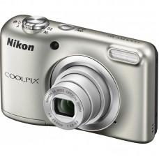 Nikon Coolpix A10 digitális fényképezőgép (ezüst)