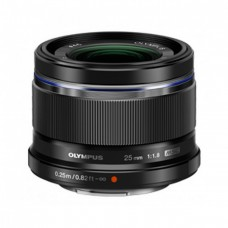 Olympus M.ZUIKO DIGITAL 25mm 1:1.8 / ES-M2518 objektív fekete