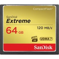 SanDisk (124094) 64 GB CompactFlash Extreme memóriakártya