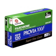 Fujichrome Provia 100F 120*5 professzionális fordítós (dia) rollfilm (RDP III) csomag Super Fine Grain