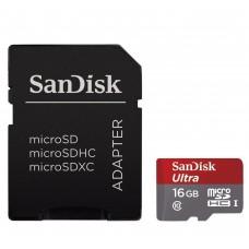 SanDisk  (139730) 16 GB micro SDHC Ultra 80MB/S  memóriakártya
