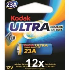 Kodak Max K23A 12 V alkáli elem gyűjtődobozban, 12 db/doboz