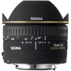 Sigma 15mm F2,8 Nikon (476944) EX DG Diagonal Fish-Eye objektív