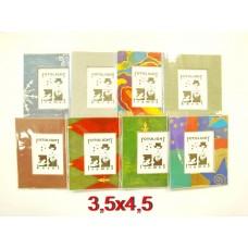 """""""Akciós""""Fotolight papír képkeret 3,5x4,5cm, többféle színben"""