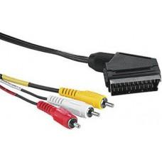 Hama Scart-3RCA kábel No.43178