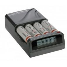 Dörr C-431 LCD akkumulátor gyorstöltő+4db AA instant akkumulátor