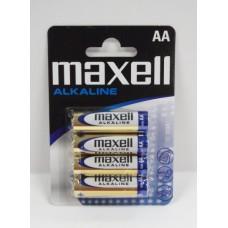 Maxell LR6 1,5V alkáli elem 4 db/bliszter