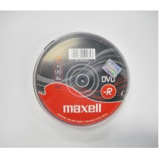 Maxell DVD-R 4,7GB 16x írható DVD lemez 10db/henger