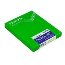 "Fujichrome Provia 100F 4x5""/20 lap professzionális fordítós (dia) síkfilm"