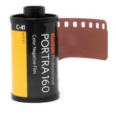 Kodak Portra 160 135-36 professzionális negatív film (bontott)