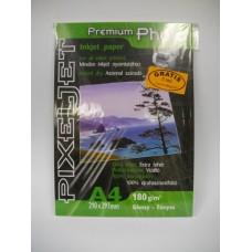 PixelJet A4 180/20 lap inkjet papír fényes felülettel