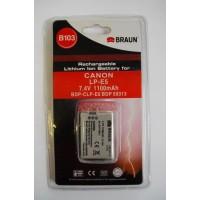 Braun Li-ion akkumulátor LP-E5 (Canon)