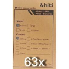 HITI hőpapír 50db/cs 10*15cm 63X sorozat