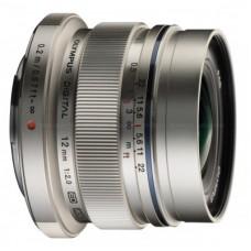Olympus M.ZUIKO DIGITAL ED 12mm 1:2.0/EW-M1220 objektív ezüst