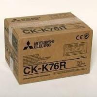 Mitsubishi CK-K76R kioszk papír 10x15/15x20cm,papír+fólia,64...