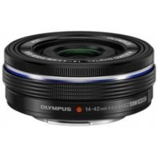 Olympus M.ZUIKO DIGITAL 14-42mm 1:3.5-5.6 EZ (elektronikus zoom) / EZ-M1442EZ objektív fekete