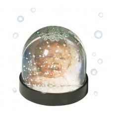 Dörr (D990585) hógömb széles fekete talppal,hóval és csillámmal