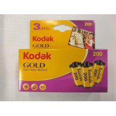 Kodak Gold GB 200 135-24x3 színes negatív filmcsomag