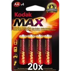 Kodak Max KAA-4 ceruza elem, 4 db/bliszter, 20 bliszter/doboz
