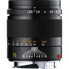 Leica Summarit-M 75mm F/2,5 objektív (fekete)
