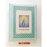 9x13/200 könyvalbum (35200) többféle mintával 24 db/karton...