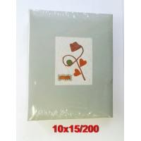 10x15/200 könyvalbum (46200) többféle mintával 24 db/karton...