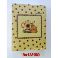 9x13/100 könyvalbum (35100) többféle mintával 48 db/karton...