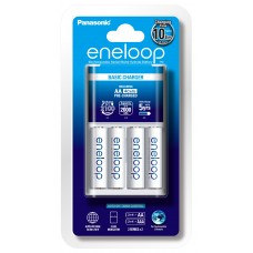 Panasonic Eneloop BQ-CC18 akkutöltő+4 db 1900mAh instant akkumulátor