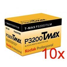 Kodak T-Max P3200 135-36 fekete-fehér negatív film (TMZ) 10 tekercs/csomag