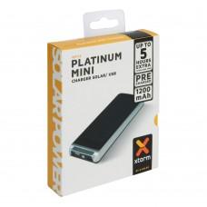 Xtorm Platinum mini Power Bank AM113 napelemes külső akkumulátortöltő 1200mAh
