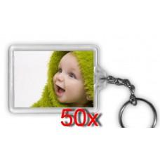 Fényképes kulcstartó 50 db/csomag