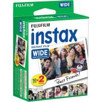 Fujifilm Instax Wide instant film (6,2x9,9cm) twin 2x10lap