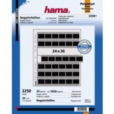 Hama negatívtartó pergamen No.2250 24x36 filmekhez 25 lap