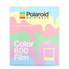 "Polaroid Originals 600 Color  8 lap ""Ice Cream Edition"" 8 lap szines instant film (by Impossible)"