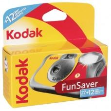 Kodak Fun Saver Flash egyszer használatos vakus fényképezőgép 27+12 felvételhez