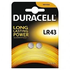Duracell LR 43 (186/V12GA) 1,5V alkáli elem 2 db/bliszter