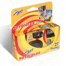 Novocolor Flash egyszer használatos vakus fényképezőgép 27 felvételhez