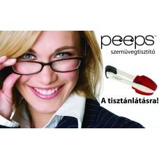 Peeps by Carbonklean aktívszenes szemüvegtisztító (fehér)