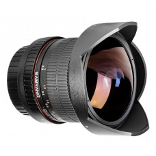 Samyang 8mm F3.5 UMC Fish-Eye CS II objektív  (Canon EOS)