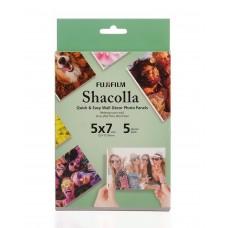 Fujifilm Shacolla 13x18 cm kétoldalas öntapadó faldekorációs hablap 5db/csomag