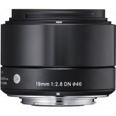 Sigma 19mm F2,8 Olympus (40B963) EX DN objektív, fekete