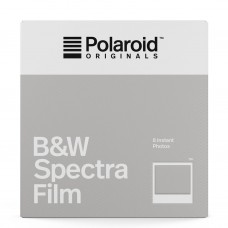 Polaroid Originals Spectra B&W 8 lap fekete-fehér instant film (by Impossible)