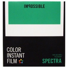 Impossible Color instant film Polaroid Image & Spectra 8lap (New Emulsion)