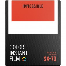 Impossible Color instant film Polaroid SX-70 8lap