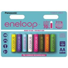 Panasonic Eneloop Tropical 1900mAh  AA instant akku 8db/bliszter