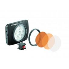Lumimuse 6 led lámpa & kiegészítők fekete színben