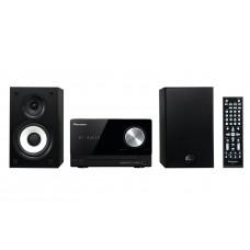 Pioneer X-CM52BT-K Micro HiFi rendszer, Bluetooth, USB, HDMI, 2x15W, fekete színben