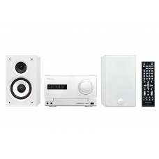 Pioneer X-CM52BT-W Micro HiFi rendszer, Bluetooth, USB, HDMI, 2x15W, fehér színben