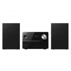 Pioneer X-EM16 Micro HiFi rendszer, CD, FM, USB, 2x10W fekete színben