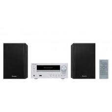 Pioneer X-HM26(S) Micro HiFi rendszer, Bluetooth, CD, USB, MP3, AM/FM, 2x15W, ezüst színben